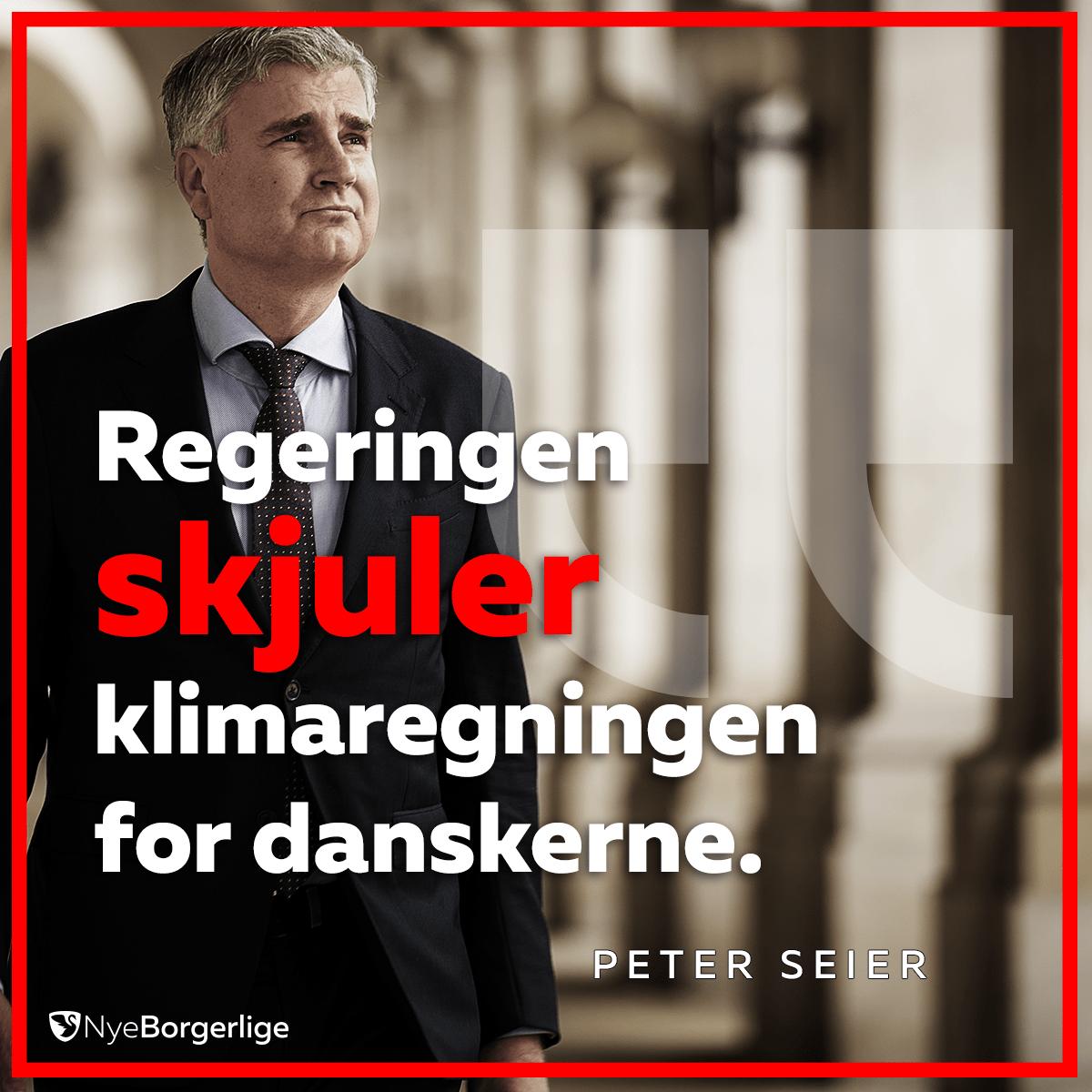 Peter Seier Christensen Nye Borgerlige